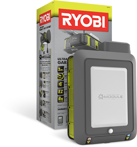Chamberlain Garage Door Opener Light Keeps Coming On: Ryobi 2 HP Quiet Remote Garage Door Opener, WIFI, Battery