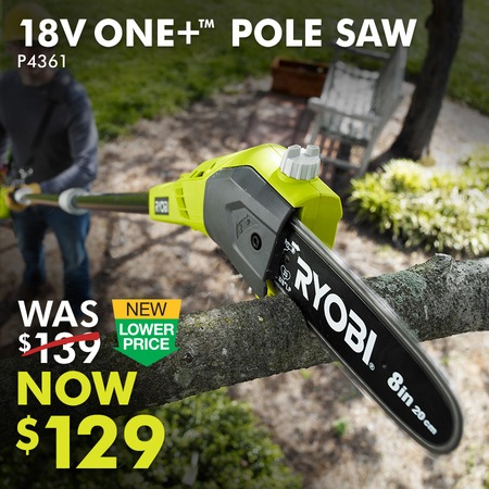 18V ONE+™ 8 IN. POLE SAW