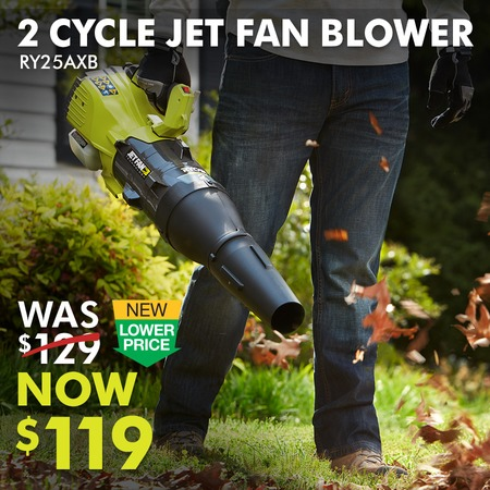 2 CYCLE JET FAN BLOWER