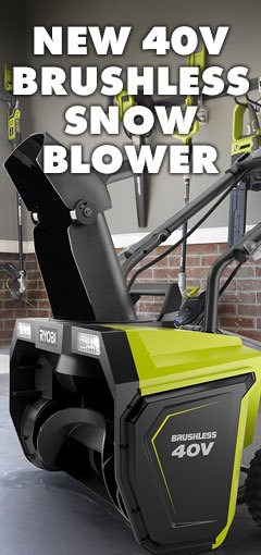NEW 40V BRUSHLESS SNOW BLOWER