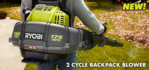 NEW 2 CYCLE BACKPACK BLOWER