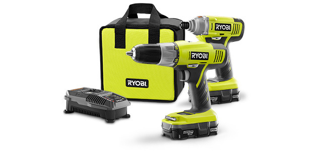 Photo: New Product: 18V Lithium-ion Drill and Impact Driver Kit