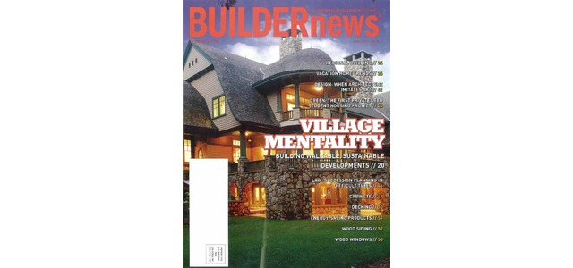 Photo: Builder News April 2009 Review