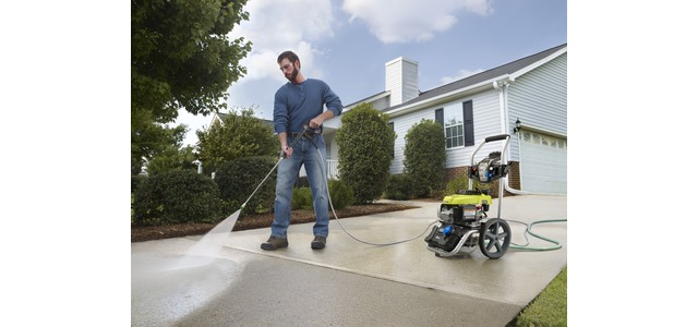 Photo: RYOBI 2800 PSI Gas Pressure Washer with PowerControl Technology