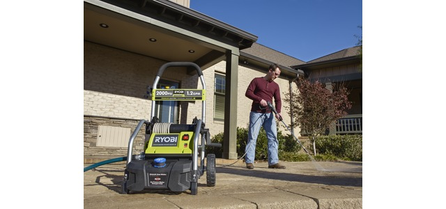 Photo: RYOBI 2000 PSI Electric Pressure Washer Fact Sheet