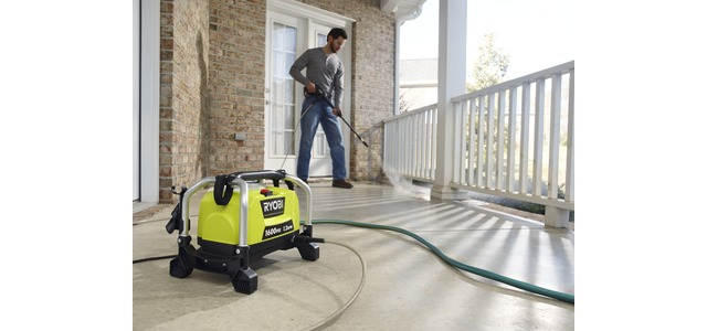 Photo: RYOBI 1600 PSI Electric Pressure Washer Fact Sheet