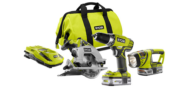 Photo: P846 18 Volt ONE+™ 3 pc Lithium-ion Combo Kit