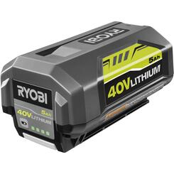 (2) 40V 5.0 ah Batteries