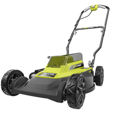 "40V 18"" Mulching & Side Discharge Mower"