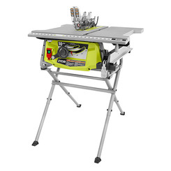 RTS12T Table Saw with Folding Stand & Mounting Hardware