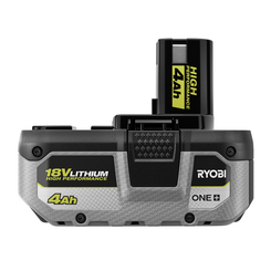 (1) 18V ONE+ 4Ah High Performance Battery