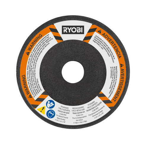 Photo: Type 27 Grinding Wheel