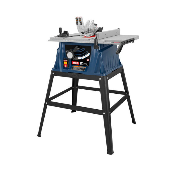 10 In Table Saw With Steel Stand Ryobi Tools