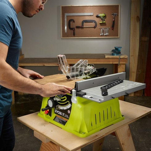 10 In Table Saw Ryobi Tools