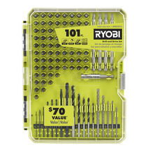 101 PC. Drill and Drive Set