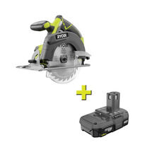 18V ONE+ Cordless 6-1/2 in. Circular Saw With Free 1.5 AH Battery