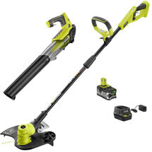 18V ONE+™ LITHIUM+™ STRING TRIMMER & JET FAN BLOWER Kit