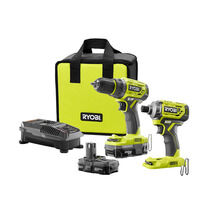 18V ONE+™ Brushless Lithium-Ion Drill/Driver & Impact Driver Kit