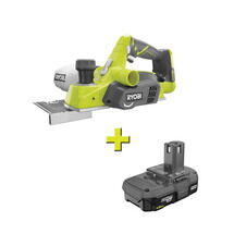18V ONE+ Cordless 3-1/4 in. Planer With Free 1.5 AH Battery