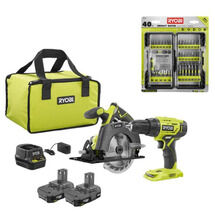18V ONE+ 2-Tool Combo Kit with 40 PC. Driving Kit