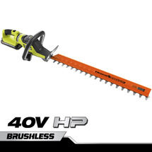 "40V HP 26"" Brushless Hedge Trimmer with 2.0 Ah Battery and Charger"