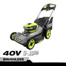 "40V HP Brushless 21"" CrossCut Self-Propelled Mower with (2) 40V 6Ah Batteries and Charger"
