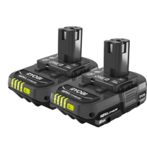18V ONE+ 2.0 Ah Compact Lithium-Ion Battery (2-Pack)