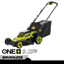 "18V ONE+ HP 16"" Cordless Lawn Mower with (2) 4.0 Ah Batteries and Charger"