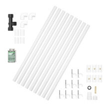 1/2 in. x 12 in. Professional PVC Misting Kit