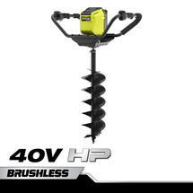 "40V HP 8"" Brushless Auger with 4.0 Ah Battery and Charger"