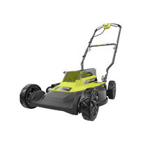 "40V 18"" Mulching & Side Discharge Mower with 4.0AH Battery & Charger"
