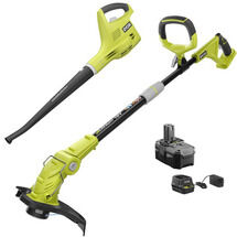 18V ONE+™ String Trimmer/Edger & Sweeper with 2.6Ah Battery & Charger