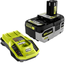 18V ONE+ 4.0Ah High Performance Battery and Charger Starter Kit