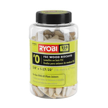 Ryobi #0 Wood Biscuits (150 PC.)