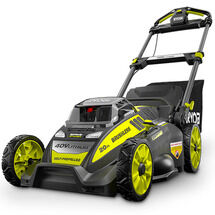 "40V 20"" BRUSHLESS SELF-PROPELLED MOWER WITH 5AH BATTERY & CHARGER"