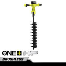 "18V ONE+ HP 6"" Brushless Auger with 4Ah Battery and Charger"