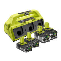 6-PORT SUPERCHARGER WITH 4 LITHIUM+ BATTERIES