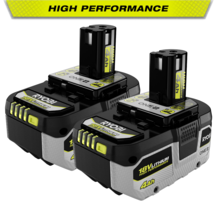 18V ONE+ 4.0 Ah Lithium-Ion High Performance Battery (2-Pack)