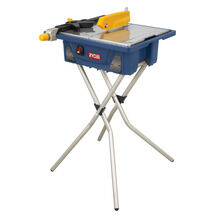 7IN. Wet Tile Saw with Folding Stand