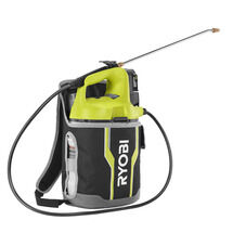 ONE+ 18-Volt Lithium-Ion Cordless 2 Gal. Chemical Sprayer and Holster with Extra Tank, 2.0 Ah Battery, Charger Included