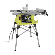 10 IN. Portable Table Saw with QuickStand