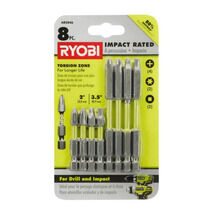 8-PIECE IMPACT RATED DRIVING KIT