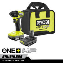 "18V ONE+ HP Compact Brushless 1/4"" Impact Driver Kit"