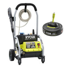 1700 PSI  Electric Pressure Washer with Surface Cleaner