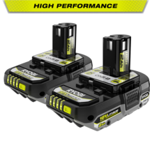 18V ONE+ 2.0 Ah Compact Lithium-ion High Performance Battery (2-Pack)