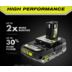 Photo: 18V ONE+ 2.0 Ah Compact Lithium-ion High Performance Battery (2-Pack)