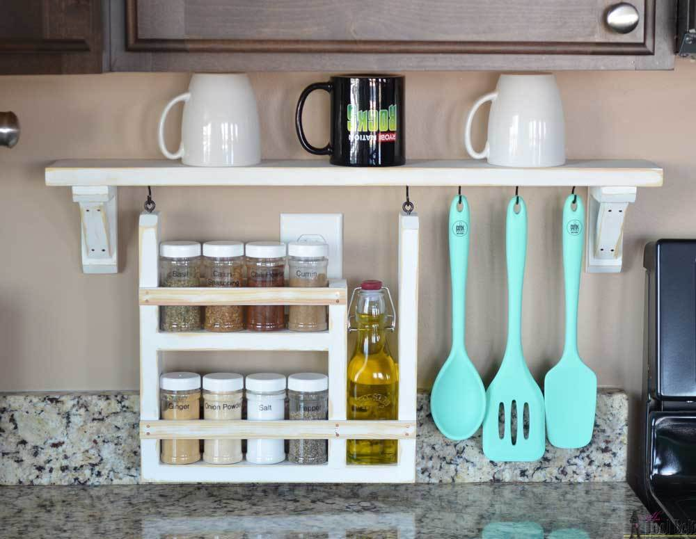 Backsplash Shelf And Organizer Ryobi Nation Projects