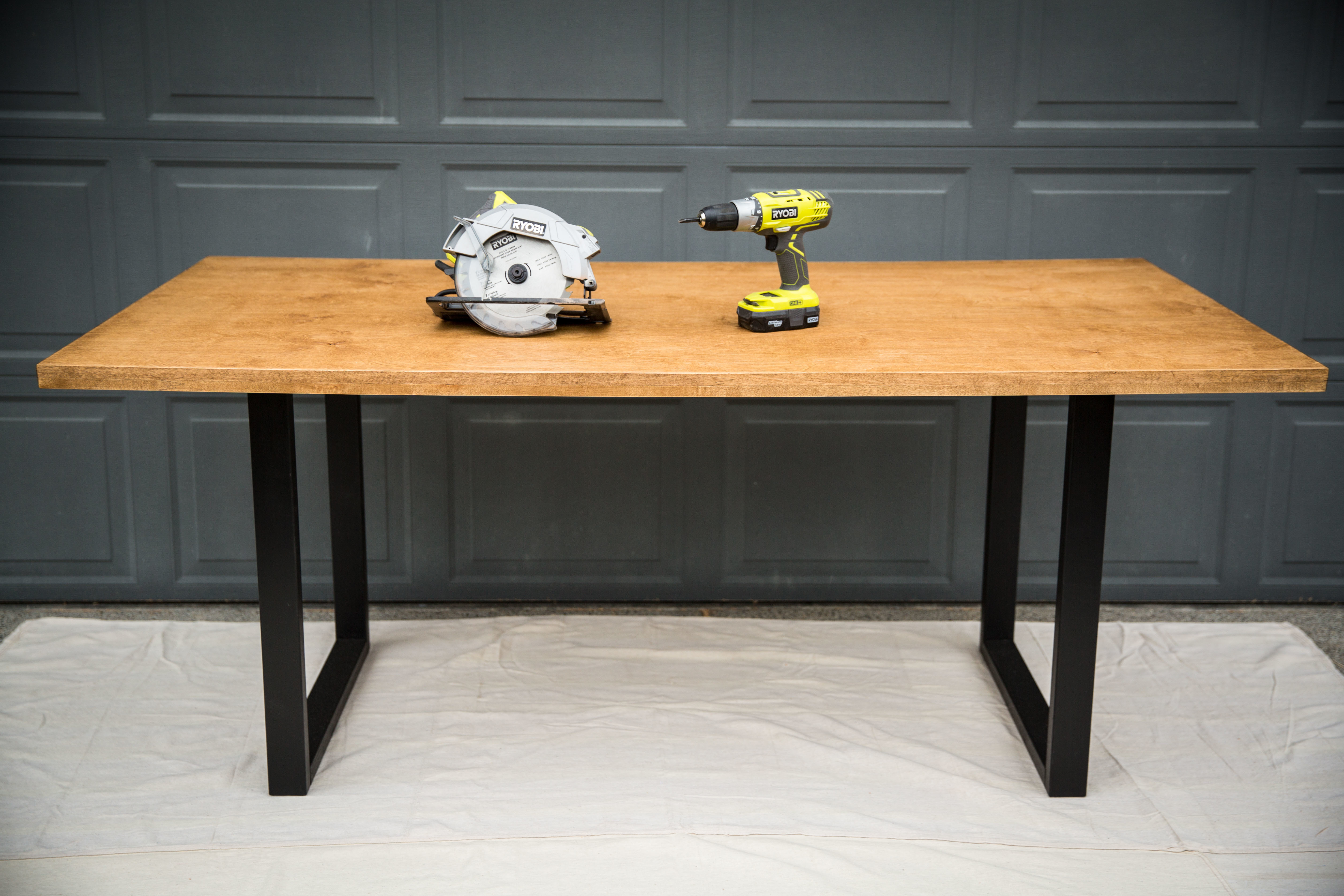 Modern Dining Table Single Sheet Of Plywood Ryobi