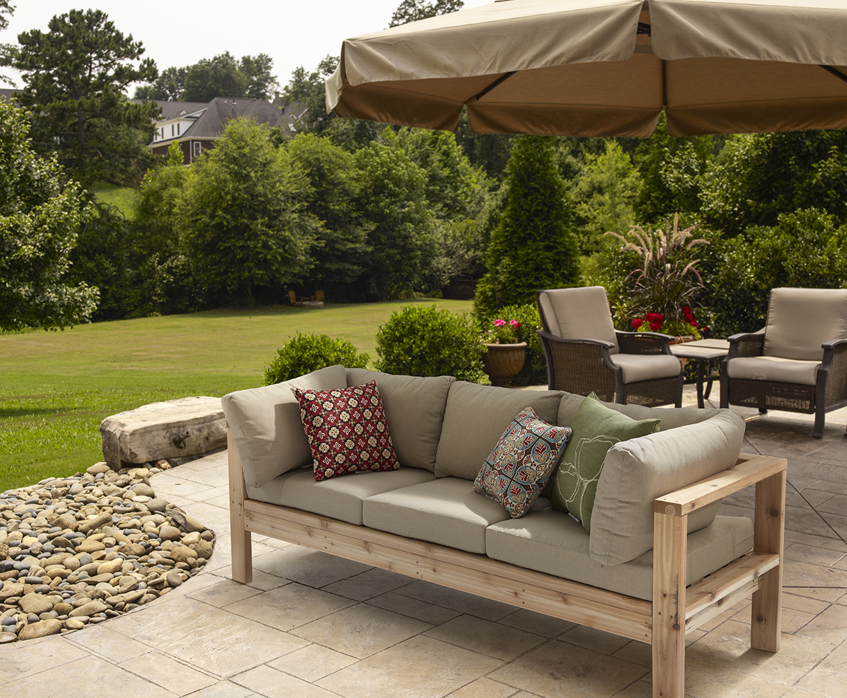 Bon Outdoor Couch   RYOBI Nation Projects