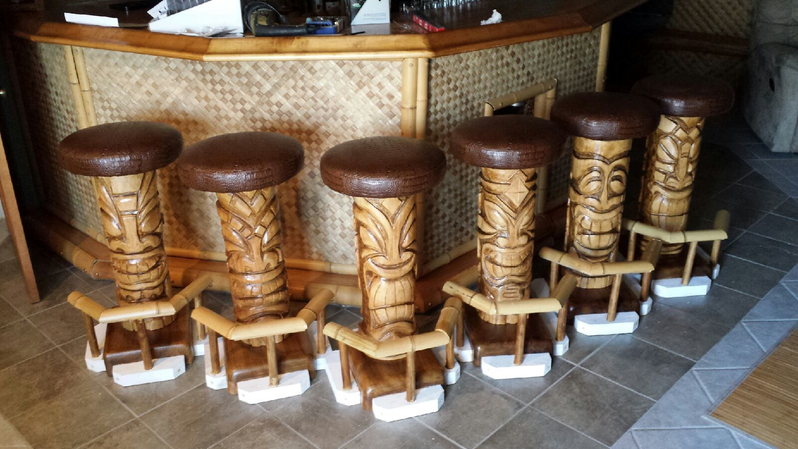 Tiki Bar Stools Ryobi Nation Projects